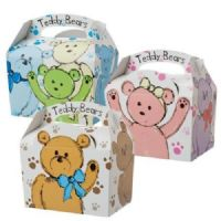 Teddy Bear Meal Party Box